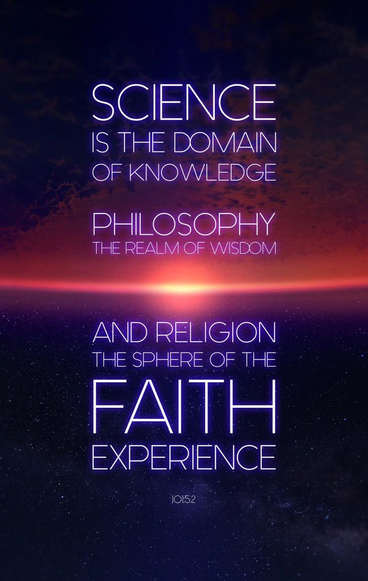 과학, 철학, 종교